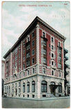 VA, Norfolk - Hotel Lorainne postcard - MB0055