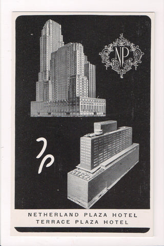 OH, Cincinnati - NETHERLAND PLAZA and TERRACE PLAZA HOTEL - VT0256