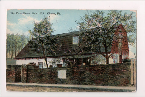 PA, Chester - Penn House, 1910 postcard - w00456