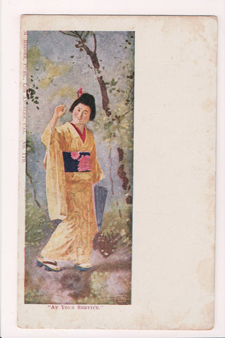 People - Female postcard - Pretty Woman - Oriental - M RIEDER #179 - w02442