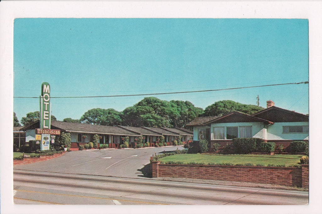 CA, Monterey - Franciscan Motel - Dexter Press postcard - w02835