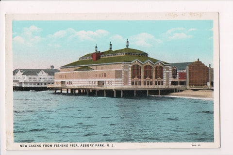 NJ, Asbury Park - Casino - Leiding and Hintze Candy advertisement - w02998