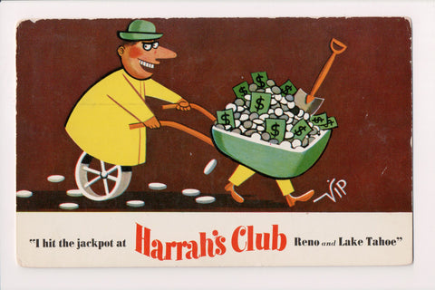 NV, Reno - Harrahs Club - 1958 postcard - w03508