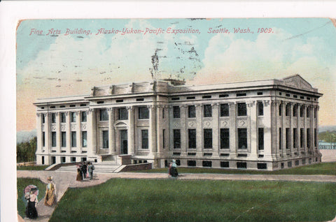 WA, Seattle - Alaska-Yukon-Pacific Exposition, Fine Arts Building - C17334