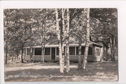 WI, Manito - The Old Homestead, _oss Birchwood Lodge RPPC - R00340