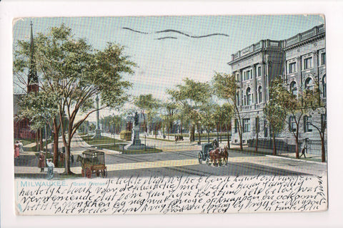 WI, Milwaukee - Grand Avenue - Tuck postcard - CP0201