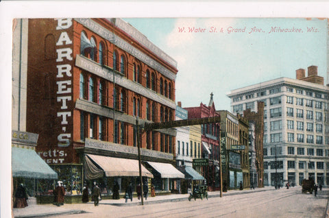 WI, Milwaukee - W Water St, Grand Ave, Barretts, Harris Watches (ONLY Digital Copy Avail) - J03072