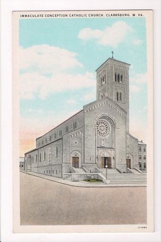WV, Clarksburg - Immaculate Conception Catholic Church - w03300