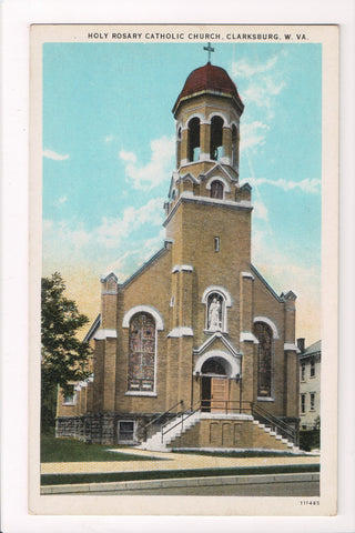 WV, Clarksburg - Holy Rosary Catholic Church, I Robbins and Son - w03301