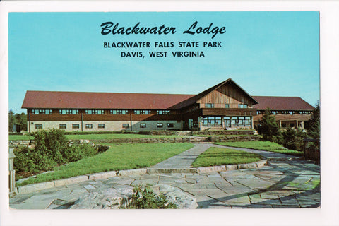 WV, Davis - Blackwater Lodge, in State Park - @1973 postcard - w02929