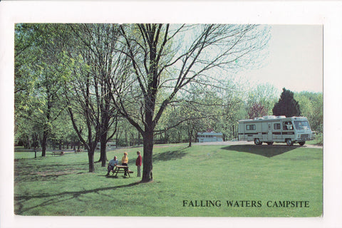WV, Falling Waters - Falling Waters Campsite, The Leatherman Family - w02415