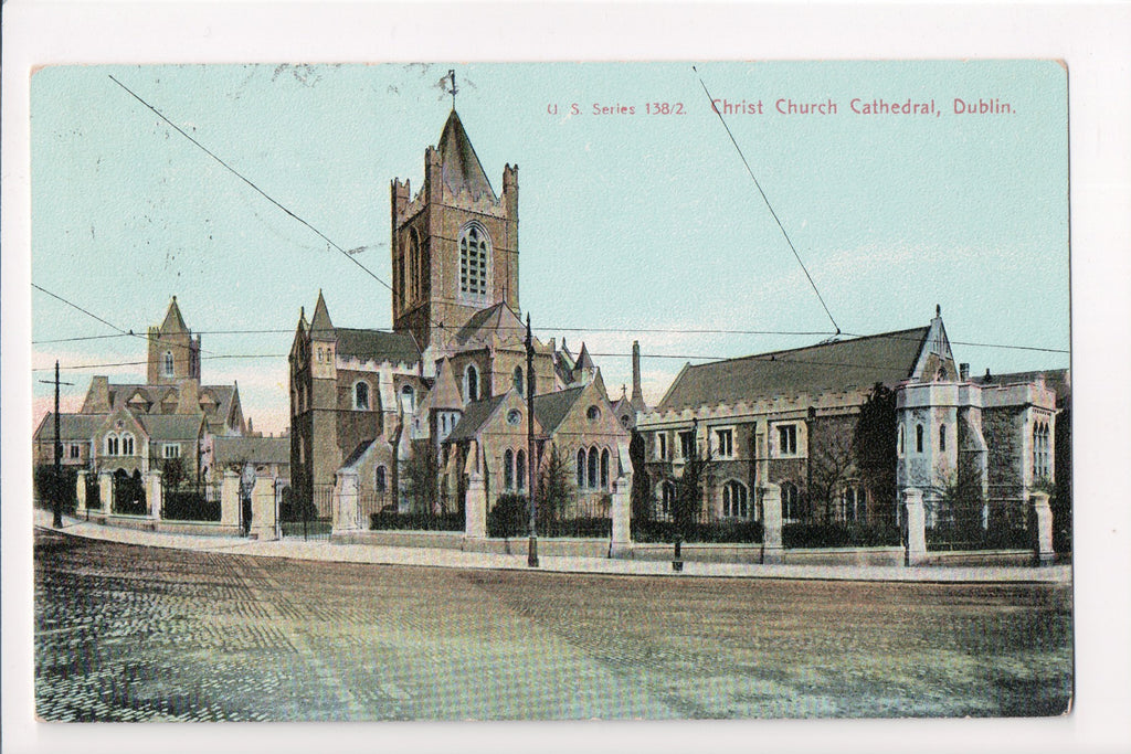Foreign postcard - Dublin - Christ Church Cathedral - C08526