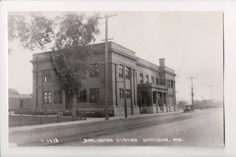 WY, Sheridan - Burlington Station - CO MO Co (ONLY Digital Copy Avail) - B06004