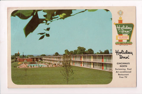 OH, Cincinnati - HOLIDAY INN postcard - Sharon Road - A05161