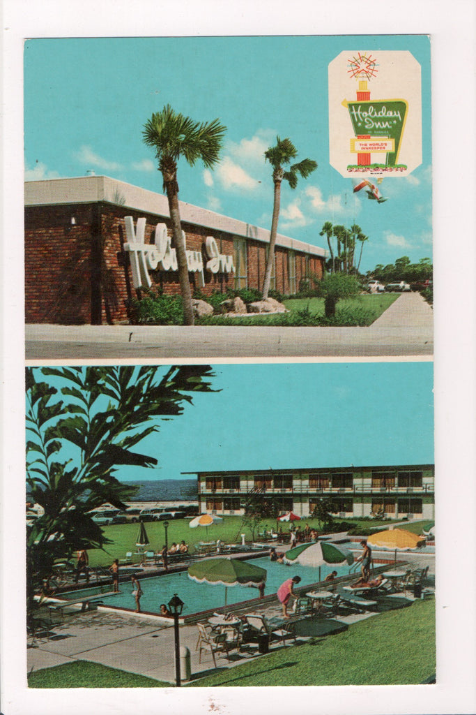 FL, Titusville - HOLIDAY INN postcard - 4951 So Wash Ave (US 1) - B06513