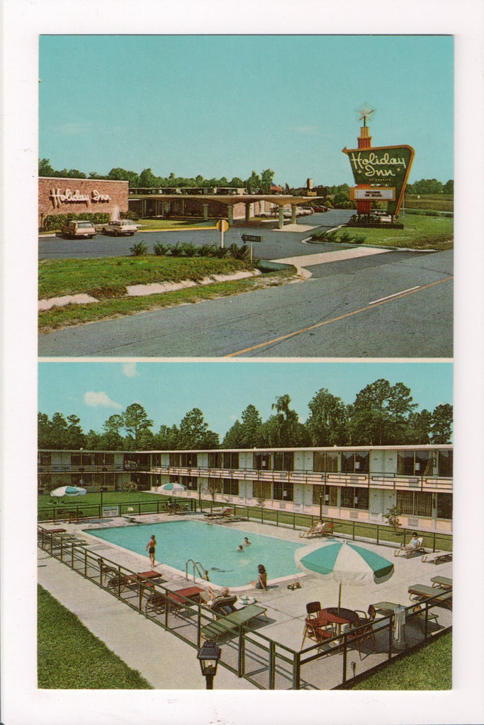 SC, Charleston - HOLIDAY INN postcard - Airport Road and I-26 - MB0481