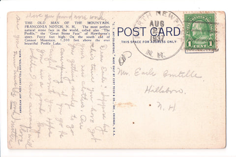 pm DPO - NH, North Newport - 1937 cancel - Helbock S/I #1 - boA06814