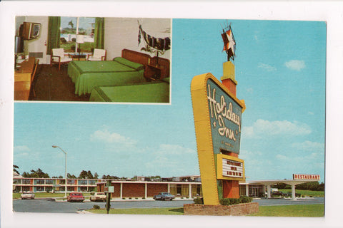 NC, Dunn - HOLIDAY INN postcard - Interstate 95 and Pope Road - w00401