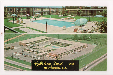 AL, Montgomery - HOLIDAY INN postcard - I-85 and Eastern Bypass - w00426