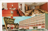 NJ, Fort Lee - HOLIDAY INN postcard - Beth Sholan Bowling Party sign - w02037