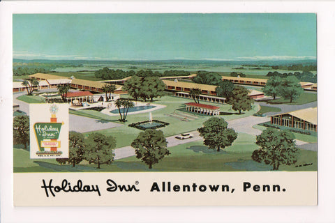 PA, Allentown - HOLIDAY INN postcard - Jctn Routes 22 and 209 - w02040