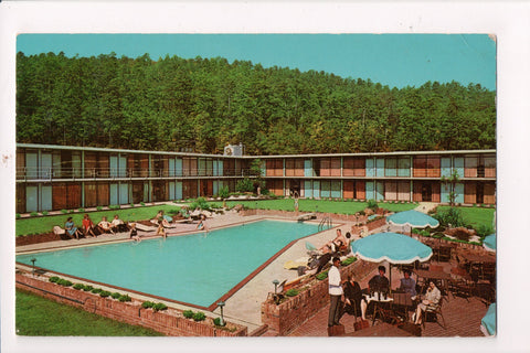 AR, Hot Springs - HOLIDAY INN postcard - 1125 E Grand Ave - w02041