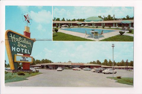 AR, Pine Bluff - HOLIDAY INN postcard - 140 rooms - w02047