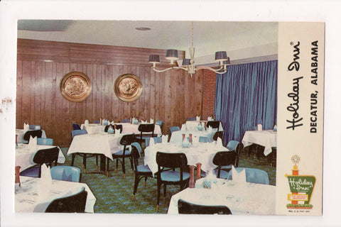 AL, Decatur - HOLIDAY INN postcard - Restaurant Interior - w02048