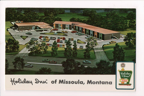 MT, Missoula - HOLIDAY INN postcard - Mullen Road - w02055