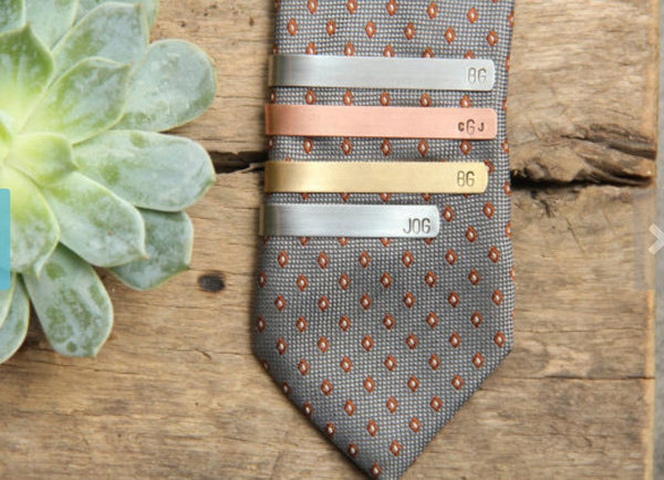 personalized tie clips pixley pressed