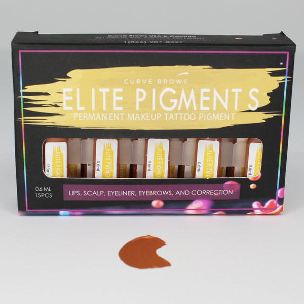 ELITE PMU MACHINE PIGMENT BUBBLE GUM 0.6ML (15 PIECES)