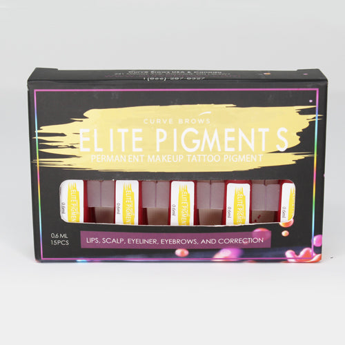ELITE PMU MACHINE PIGMENT HOT PINK 0.6ML (15 PIECES)