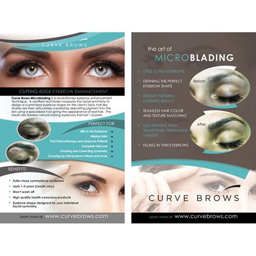 MICROBLADING FLYERS