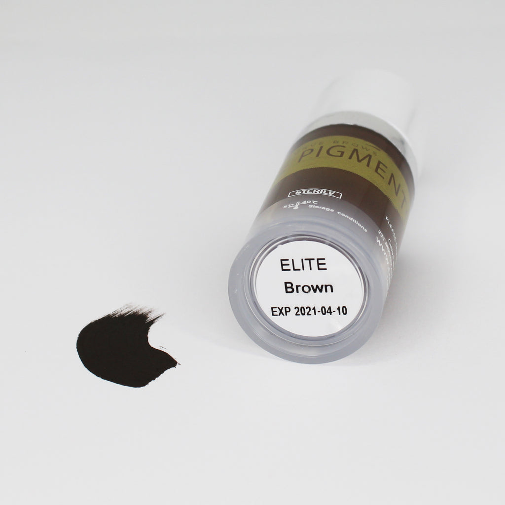 ELITE PMU MANUAL PIGMENT BROWN 10ML