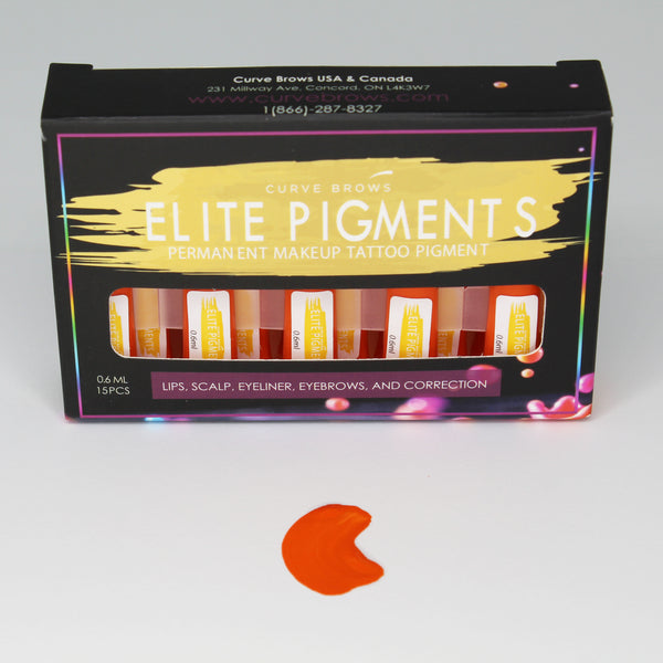 ELITE PMU MACHINE PIGMENT ORANGE 0.6ML (15 PIECES)
