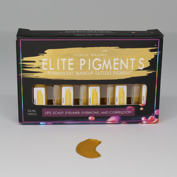 ELITE PMU MACHINE PIGMENT TAUPE 0.6ML (15 PIECES)
