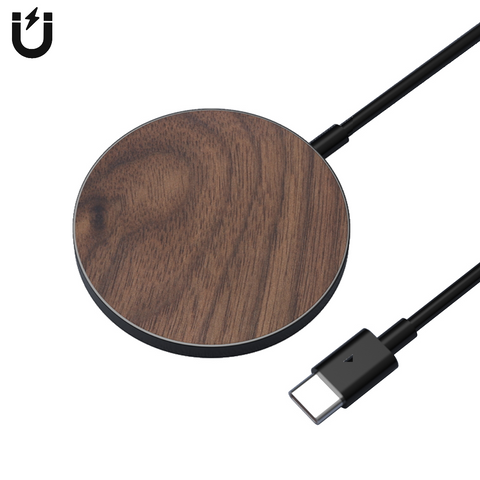 MAGLuxe Magnetic Wireless Pad - Walnut