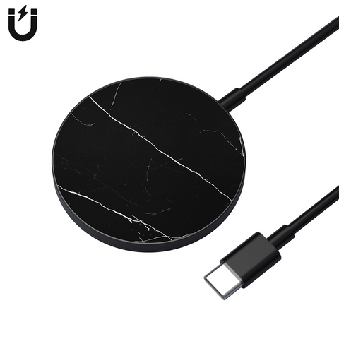 MAGLuxe Magnetic Wireless Pad - Black Marble