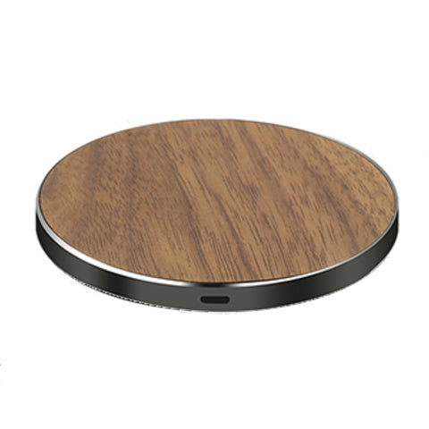 LuxeTech Wireless Pad - Walnut