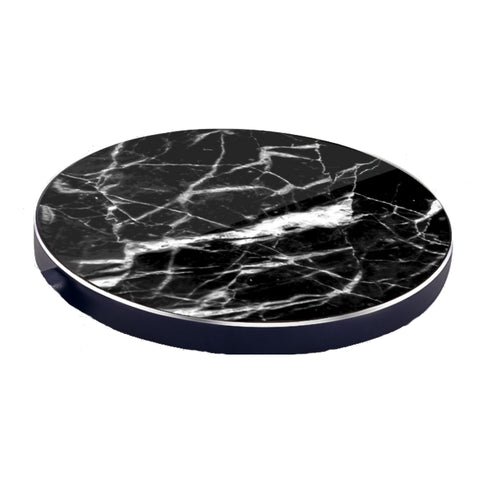 LuxeTech Wireless Pad - Black Marble