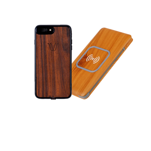 iPhone 6/7 Wireless Kit Rosewood