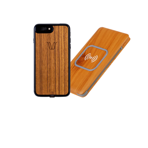 iPhone 6/7 Wireless Kit Teak