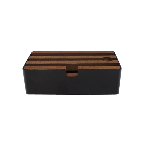 D Dock Black & Walnut