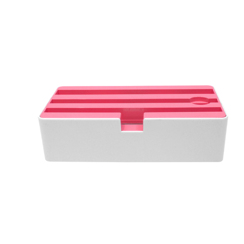 D Dock White & Pink