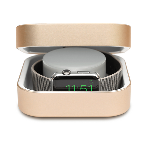 Apple Watch Charger Gold