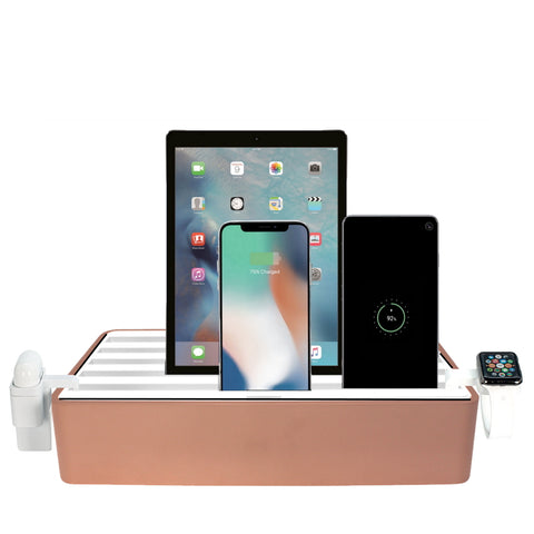 ALLDOCK Classic FAMILY Alu Rose Gold & White Package