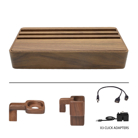 HybridX Wireless Large Walnut Apple Package