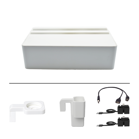 HybridX Wireless Compact White Apple Package