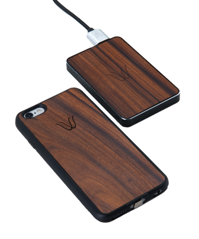 Woodie Wireless Kit for iPhone 6 Rosewood