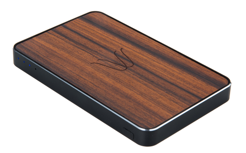 Woodie Wireless Power Bank Rosewood